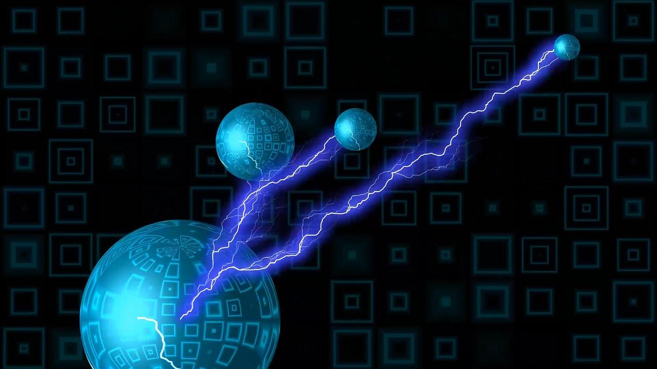 青色の電気