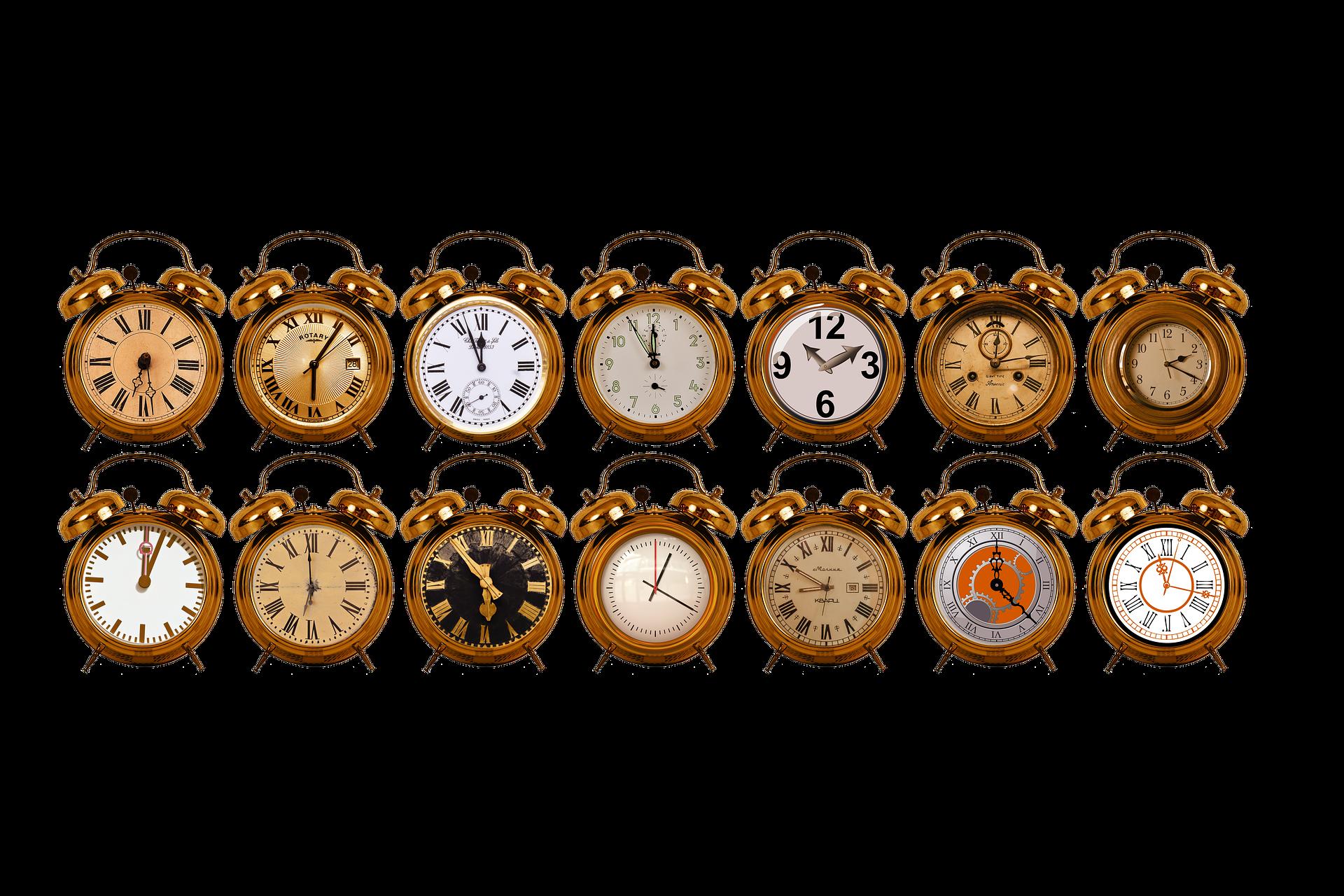 様々な時計